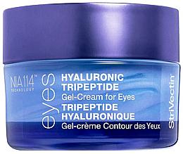 Parfums et Produits cosmétiques Gel-crème à l'acide hyaluronique et peptides pour contour des yeux - StriVectin Advanced Hydration Hyaluronic Tripeptide Gel-Cream For Eyes