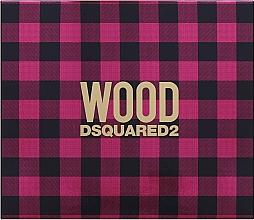 Parfums et Produits cosmétiques Dsquared2 Wood Pour Femme - Coffret (eau de toilette/50ml + lotion corporelle/50ml + gel bain et douche/50ml)