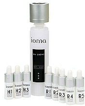 Parfums et Produits cosmétiques Ioma Face Serum Night Set Tailor Made Skin Care Ma Creme Base And Serums - Set (crème visage/40ml + sérum visage/8x5ml)