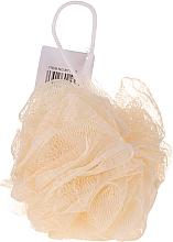 Parfums et Produits cosmétiques Éponge de bain, jaune - IDC Institute Design Mesh Pouf Bath Sponges