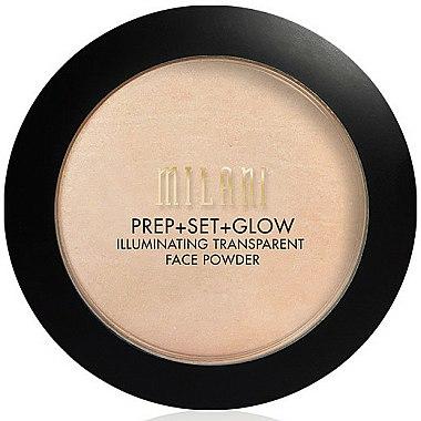 Poudre illuminatrice transparente pour visage - Milani Prep + Set + Glow Illuminating Transparent Powder
