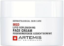 Parfums et Produits cosmétiques Crème au panthénol pour visage - Artemis of Switzerland Med Lipid Replenishing Face Cream