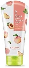 Parfums et Produits cosmétiques Mousse nettoyante à l'extrait de pêche pour visage - Frudia My Orchard Peach Mochi Cleansing Foam