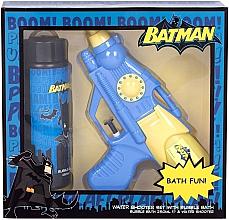 Parfums et Produits cosmétiques DC Comics Batman - Coffret enfant (mousse de bain/250ml + pistolet à eau)