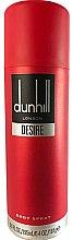 Parfums et Produits cosmétiques Alfred Dunhill Desire Red - Déodorant spray pour corps