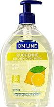 Parfums et Produits cosmétiques Savon de cuisine à l'arôme d'agrumes - On Line Kitchen Hand Wash Citrus Soap