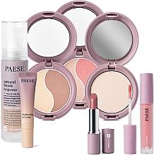 Parfums et Produits cosmétiques Coffret cadeau - Paese 9 Nanorevit (found/35ml + conc/8.5ml + lip/stick/4.5ml + powder/9g + cont/powder/4.5g + powder/blush/4.5g + lip/stick/2.2g)