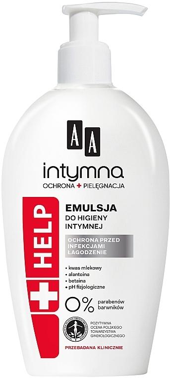 Émulsion d'hygiène intime anti-bactérienne - AA Intimate Help+