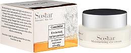 Parfums et Produits cosmétiques Crème à l'huile de chanvre contour des yeux - Sostar Cannabisoil Moisturizing Eye Cream of Cannabis Extract