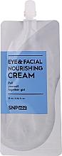 Parfums et Produits cosmétiques Crème au beurre de mangue pour visage et contour des yeux - SNP Mini Eye & Facial Nourishing Cream (mini)