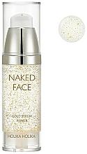 Parfums et Produits cosmétiques Base-sérum pour fond de teint à l'extrait d'or - Holika Holika Naked Face Gold Serum Primer