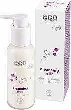 Parfums et Produits cosmétiques Lait nettoyant à l'acide hyaluronique pour visage - Eco Cosmetics Cleansing Milk With OPC Q10 & Hyaluron