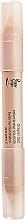 Parfums et Produits cosmétiques Crayon enlumineur double embout pour sourcils - Peggy Sage Eyebrow Illuminator Duo Pencil