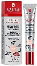 Parfums et Produits cosmétiques CC crème à la centella asiatica contour des yeux - Erborian Finish CC Eye Cream