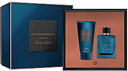 Parfums et Produits cosmétiques Cristiano Ronaldo Legacy Private Edition - Coffret (eau de parfum/ 50ml + gel douche/150ml)