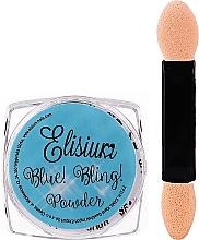 Parfums et Produits cosmétiques Poudre pour ongles - Elisium Blue Bling Powder