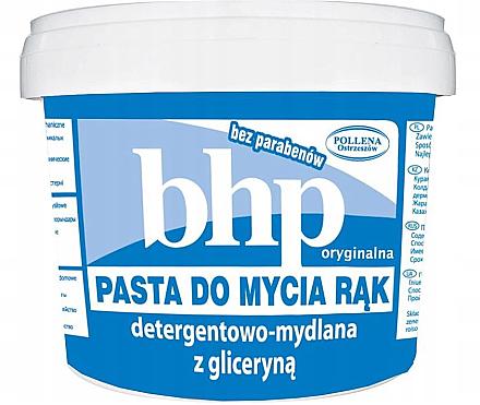 Pâte lavante à la glycérine pour les mains - BHP Handwashing Paste