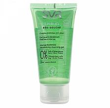 Parfums et Produits cosmétiques Gel déodorant sans sels d'aluminium pour visage, corps et cheveux - SVR Spirial Deo-Douche Deodorizing Cleansing Gel (mini)