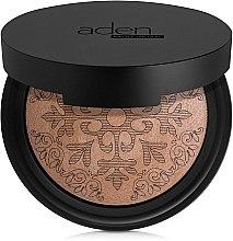 Parfums et Produits cosmétiques Poudre bronzante cuite - Aden Cosmetics Glowing Bronzing Powder