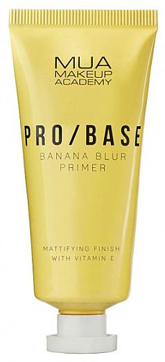 Base de teint matifiante, Banane - Mua Pro/ Base Banana Blur Primer