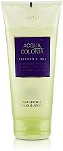 Parfums et Produits cosmétiques Maurer & Wirtz 4711 Acqua Colonia Saffron & Iris - Gel douche Safran et Iris