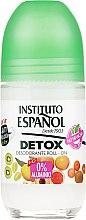 Parfums et Produits cosmétiques Déodorant roll-on détox sans sels d'aluminium - Instituto Espanol Detox Deodorant Roll-on
