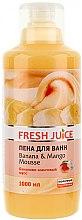 Parfums et Produits cosmétiques Mousse de bain à l'extrait de banane et mangue - Fresh Juice Banana and Mango Mousse