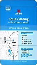 Parfums et Produits cosmétiques Masque tissu hydratant pour visage - Leaders Ex Solution Aqua Coating Mild Cotton Mask