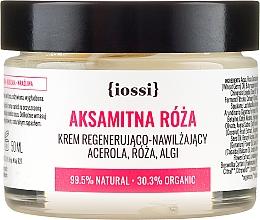 Parfums et Produits cosmétiques Crème aux extraits de rose de Damas et algues pour visage - Iossi Regenerating Cream
