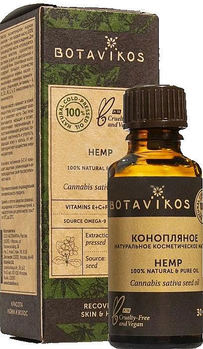 Huile de chanvre - Botavikos