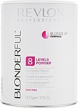 Parfums et Produits cosmétiques Poudre éclaircissant jusqu'à 8 niveaux pour cheveux - Revlon Professional Blonderful 8 Levels Lightening Powder