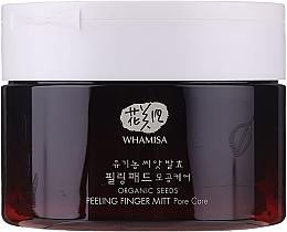Parfums et Produits cosmétiques Disques exfoliants à l'extrait de riz et d'orge pour visage - Whamisa Organic Seeds Peeling Finger Mitt Pore Care