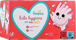 Parfums et Produits cosmétiques Lingettes nettoyantes sans alcool, 12x40 pcs - Pampers Kids On The Go