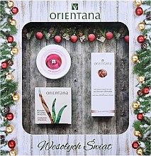 Parfums et Produits cosmétiques Set soin corporel - Orientana (baume/60g+huile/100g+crème mains/50ml)