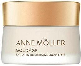 Parfums et Produits cosmétiques Crème réparatrice pour visage - Anne Moller Goldage Extra Rich Restorative Cream SPF15