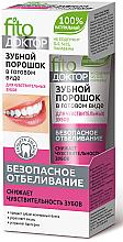 Parfums et Produits cosmétiques Pâte dentaire blanchissante pour dents sensibles - FitoKosmetik