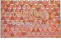 Palette de maquillage, effet éclat - Bellapierre Glowing Palette — Photo N2