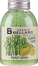 Parfums et Produits cosmétiques Caviar de bain, Bambou et Citron - Fergio Bellaro Bamboo and Lemon Bath Caviar