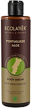 Parfums et Produits cosmétiques Sérum à l'acide hyaluronique et jus d'aloe vera pour corps - Ecolatier