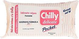 Parfums et Produits cosmétiques Lingettes d'hygiène intime apaisantes - Chilly Gel Delicate Intimate Wipes