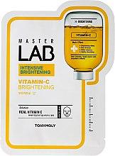 Parfums et Produits cosmétiques Masque tissu éclaircissant à la vitamine C pour visage - Tony Moly Master Lab Vitamin C Mask