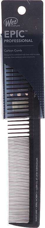 Peigne à cheveux avec crochet, noir - Wet Brush Epic Pro Carbonite Dresser Comb With Hook — Photo N1