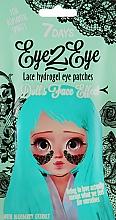 Parfums et Produits cosmétiques Patchs hydrogel en dentelle aux bleuets pour contour des yeux - 7 Days Eye2Eye Hydrogel Patches