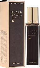 Parfums et Produits cosmétiques Essence à la bave d'escargot noir pour visage - Holika Holika Prime Youth Black Snail Repair Essence