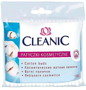 Cotons-tiges, 100 pcs - Cleanic Face Care Cotton Buds