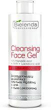 Parfums et Produits cosmétiques Gel exfoliant 10% d'acide mandélique pour visage - Bielenda Professional Exfoliation Face Program Cleansing Face Gel