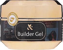 Parfums et Produits cosmétiques Gel de construction UV/LED, blanc - F.O.X Builder White Gel