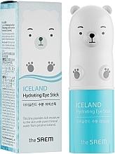 Parfums et Produits cosmétiques Stick d'eau glaciaire pour la peau autour des yeux - The Saem Iceland Hydrating Eye Stick