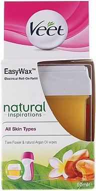 Cartouche de cire à épiler roll-on - Veet Easy Wax Natural Inspirations