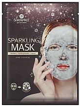 Parfums et Produits cosmétiques Masque tissu au charbon actif pour visage - Shangpree Sparkling Mask